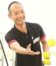 杉本 圭丞 資格:日本体育協会公認アスレティックトレーナー 柔道整復師